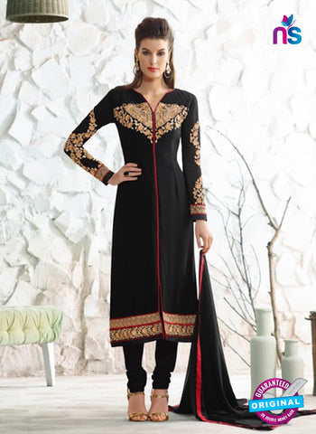 Nirvana 7003 Black Georgette Party Wear Suit