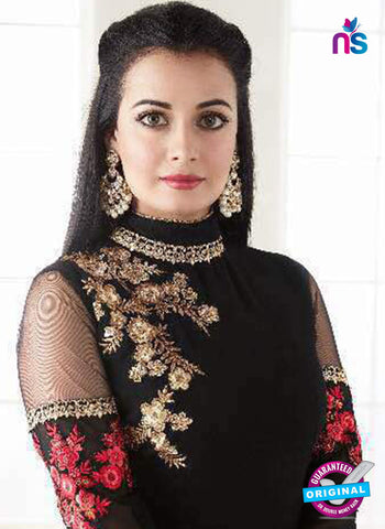 Aashirwad 7003 Black Anarkali Suit