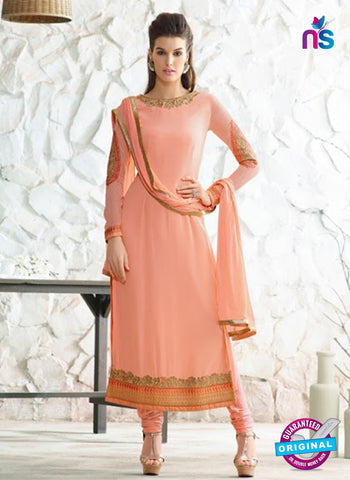 Nirvana 7004 Peach Georgette Party Wear Suit