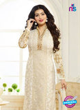 Zubeda 7005 Beige Brasso Embroidered Party Wear Suit Online