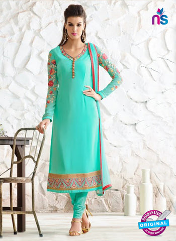 Nirvana 7005 Sea Green Georgette Party Wear Suit