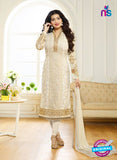 Zubeda 7005 Beige Brasso Embroidered Party Wear Suit