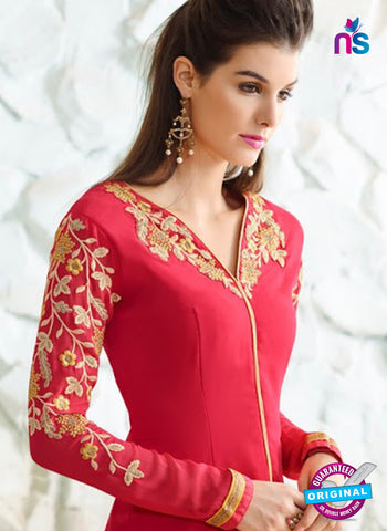 Nirvana 7006 Red Georgette Party Wear Suit Online
