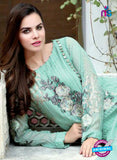 SC 13995 Sea Green Georgette Latest Exclusive Fancy Function Wear Pakistani Suit