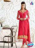 Nirvana 7006 Red Georgette Party Wear Suit