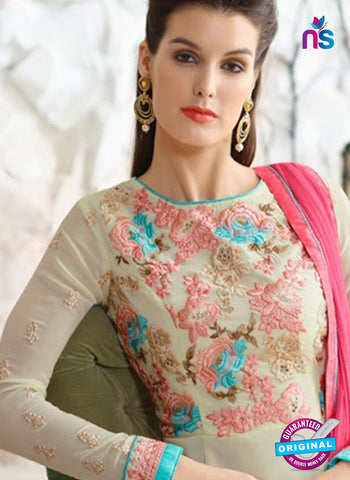 Nirvana 7007 Beige Georgette Party Wear Suit Online