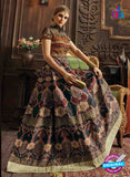 AZ 3319 Multicolor Banglori Silk Fancy Designer Gown - Gawns - NEW SHOP