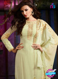 AZ 3410 Light Green Georgette Embroidered Function Wear Suit Online