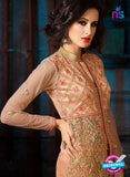 AZ 3412 Peach Silk Net Function Wear Pakistani Suit Online