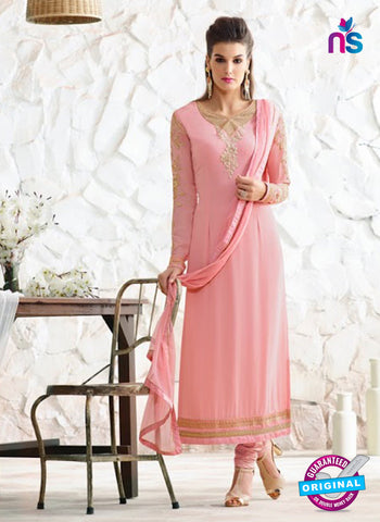 Nirvana 7009 Pink Georgette Party Wear Suit Online