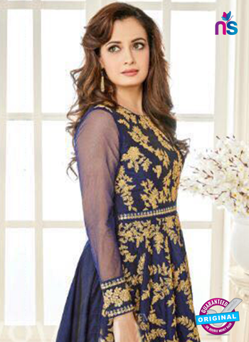 Aashirwad 7011 Blue Anarkali Suit