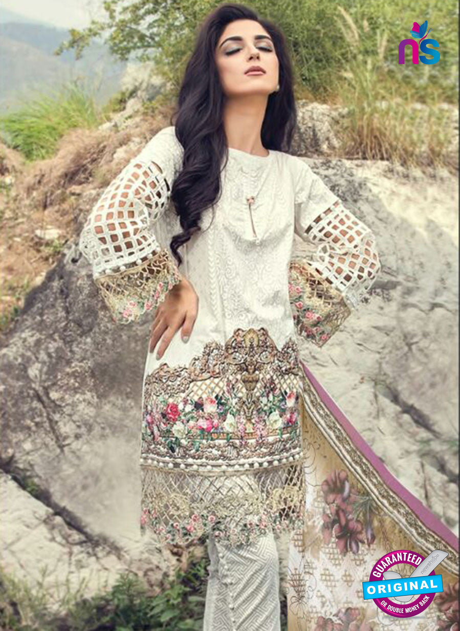 SC 13865 White Glace Cotton Designer Fancy Exclusive Plazo Suit