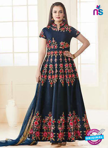 Aashirwad 7015 Blue Anarkali Suit
