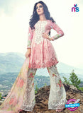 SC 13866 Pink Glace Cotton Designer Fancy Exclusive Plazo Suit