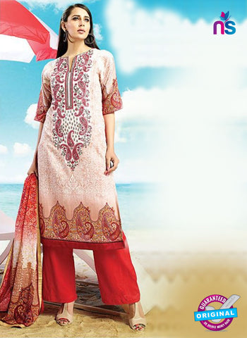 AZ 4070 Red Cotton Plazo Suit