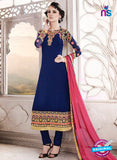 SC 14009 Blue Georgette Exclusive Function Wear Designer Straight Chudidhar Suit