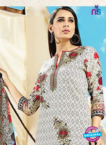 AZ 4073 Multicolor Cotton Plazo Suit