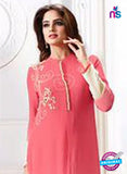 LT 706 Peach Georgette Party Wear Tunic Online