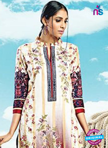 AZ 4077 Beige Cotton Plazo Suit