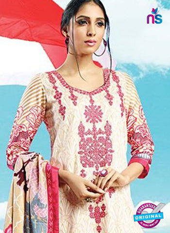 AZ 4083 Beige Cotton Plazo Suit
