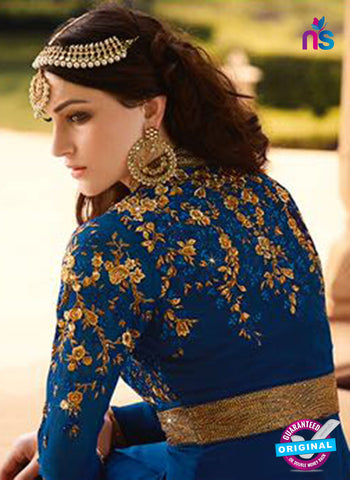 AZ 5109 Blue Georgette Party Wear Suit