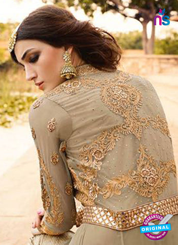 AZ 5110 Beige Net Party Wear Suit