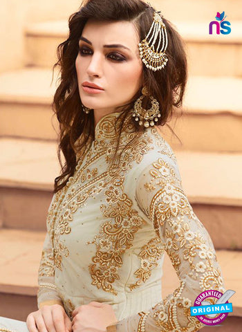 AZ 5112 Beige Georgette Party Wear Suit