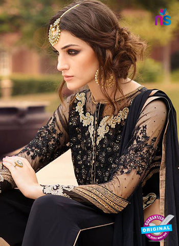AZ 5116 Black Georgette Party Wear Suit