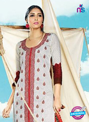 AZ 4086 Grey Cotton Plazo suit