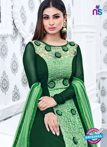 Sajawat 711 Green Anarkali Suit