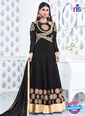 Sajawat 712 Black Anarkali Suit