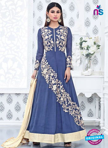 Sajawat 714 Blue Anarkali Suit