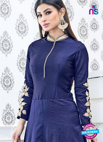 Sajawat 715 Blue Anarkali Suit