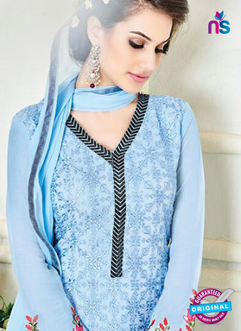 Simaya 739 Blue Party Wear Suit