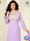 MF 74015 Purple and Pink Party Wear Georgette Long Straight Suit online