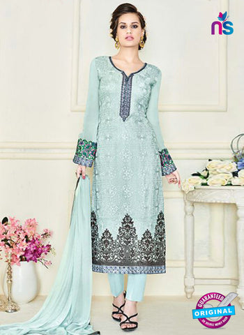 Simaya 745 Sky Blue Party Wear Suit