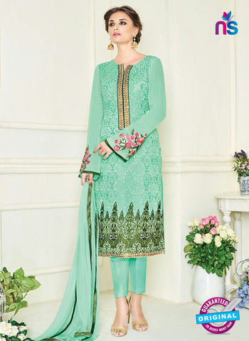 Simaya 747 Green Party Wear Suit