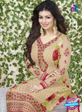 Avon 754 Beige Georgette Party Wear Suit Online