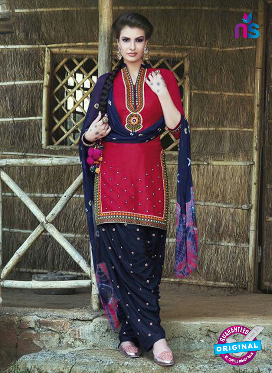 SC 13554 Pink Designer Fancy Traditional Salwar Patiala Suit