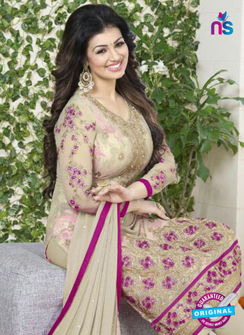 Avon 757 Beige Georgette Party Wear Suit online