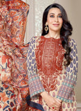 MF 77010 Multi Color Cotton Designer Suit