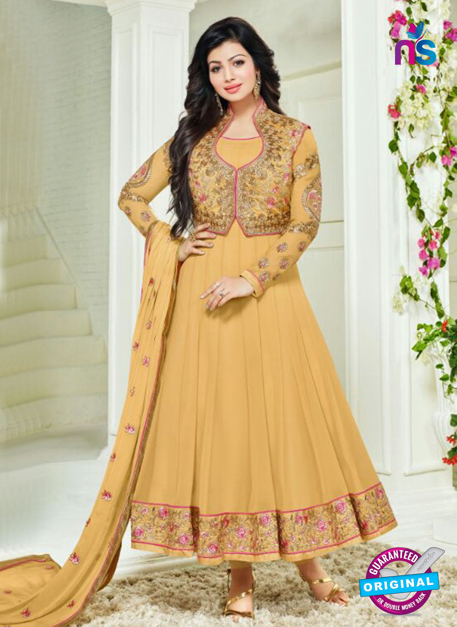 SC 14039 Yellow Georgette Exclusive Fancy Function Wear Designer Anarkali Suit