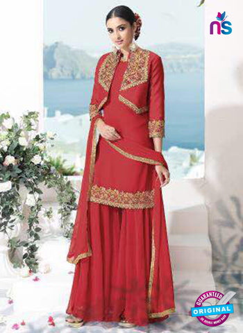 Rose 7861 Red Party Wear Suit