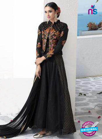 Rose 7862 Black Anarkali Suit