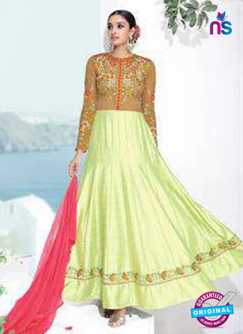 Rose 7866 Green Anarkali Suit