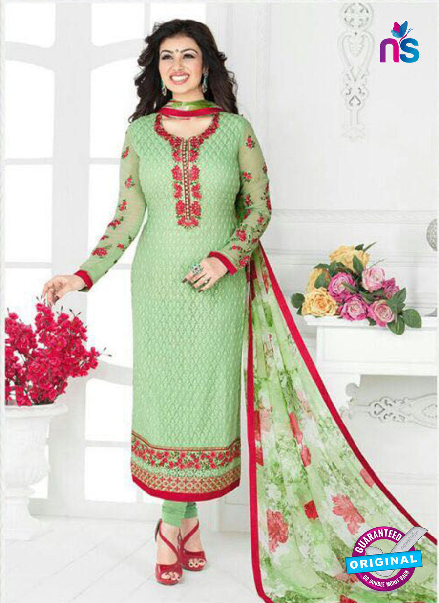 Buy Avon 793 Green Georgette Party Wear Suit