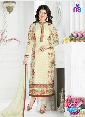 Avon 794 Beige Georgette Party Weat Suit