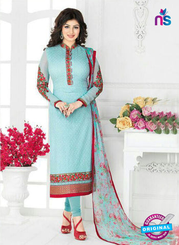 Avon 797 Sky Blue Georgette Party Wear Suit