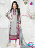 Buy Avon 798 Grey Georgette Party Wear Suit Online