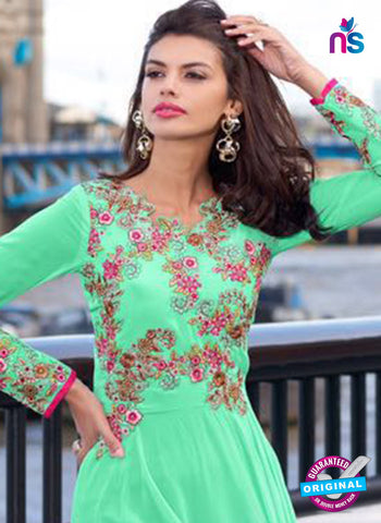 Aashirwad 80001 Sea Green Designer Gown